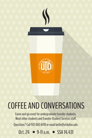 2017 Transfer Coffee & Conversations Oct. poster